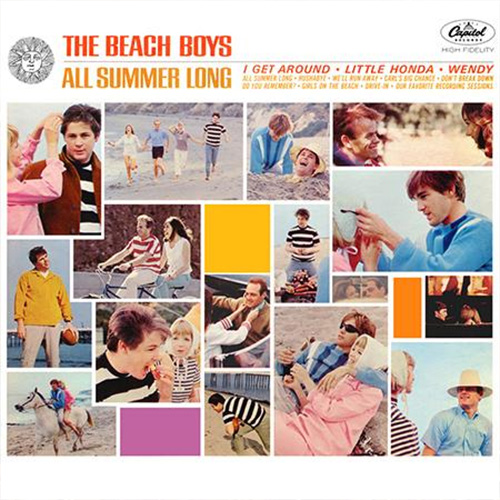 The Beach Boys: All Summer Long - Analogue Productions 200g LP (AAPP 063M)