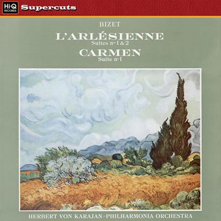 Herbert von Karajan, Philharmonia Orchestra: Bizet: L'arlesienne & Carmen - Hi-Q Records 180g LP (HI
