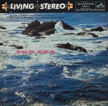 Munch, Boston Symphony Orchestra: Debussy: La Mer (The Sea) / Ibert:  Port Of Call - Analogue Produc
