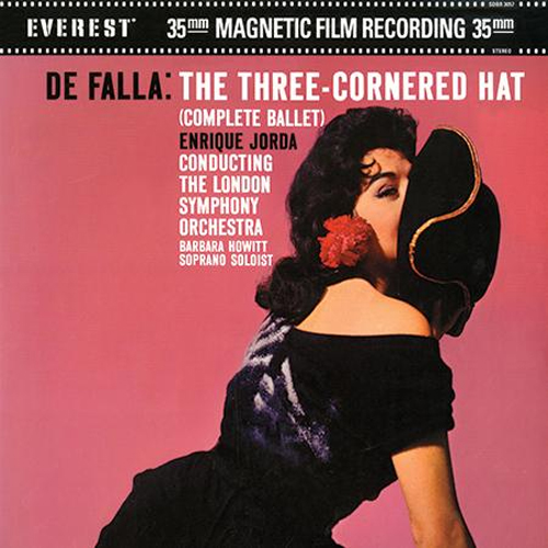 Enrique Jorda / Falla: The Three-Cornered Hat  - Analogue Productions 200g 45RPM 2-LP (AEVC 3057-45)