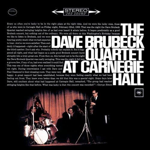 Dave Brubeck Quartet: The Dave Brubeck Quartet At Carnegie Hall - Speakers Corner 180g 2-LP (C2S 826