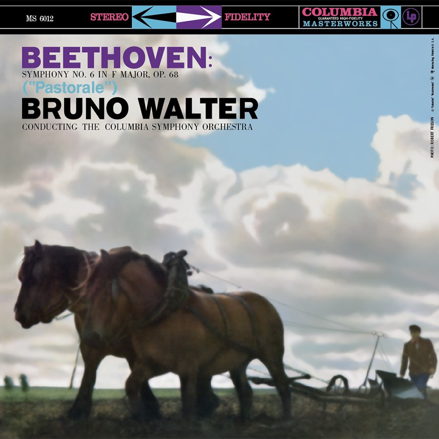 "Bruno Walter: Beethoven Symphony No. 6 ""Pastorale"" - Analogue Productions Hybrid Stereo SACD (CAPC 0"