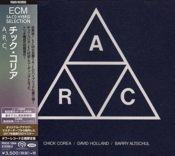 Chick Corea, David Holland, Barry Altschul: A.R.C. - Tower Records Japan Hybrid Stereo SACD (PROZ-1094)