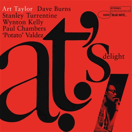 Art Taylor: A.T.'s Delight - Analogue Productions Hybrid Stereo SACD (CBNJ 84047 SA)