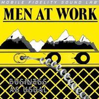 Men At Work: Business As Usual - MFSL Silver Vinyl LP (MOFI 1-024)