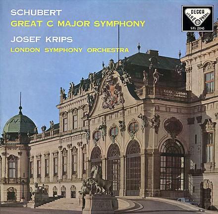 Josef Krips: Schubert: Symphony No. 9 ('The Great') - Speakers Corner 180g LP (SXL 2045)