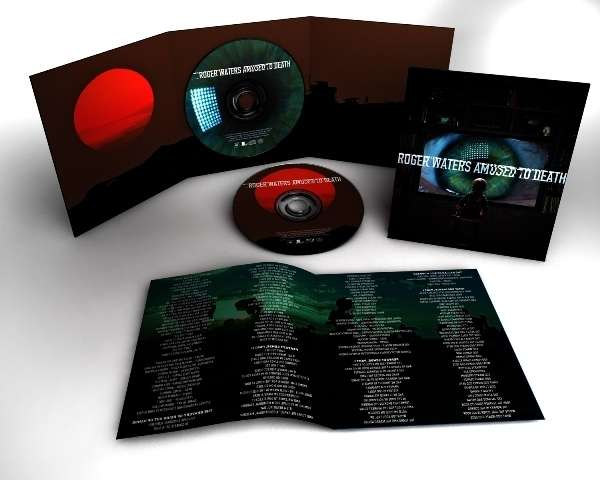 Roger Waters: Amused to Death -  Sony Music CD + Multichannel Blu-ray Audio (430 905-5)