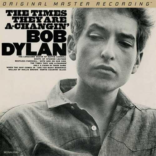 Bob Dylan: The Times They Are A Changin' (Mono) -  MFSL Hybrid Mono SACD (UDSACD 2179)