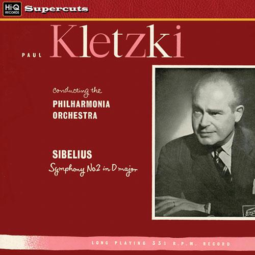 Paul Kletzki, Philharmonia Orchestra: Sibelius: Symphony No. 2 in D Major - Hi-Q Records 180g LP (HI
