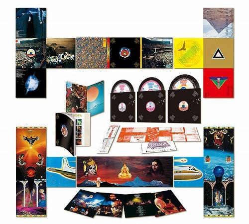 Santana: Lotus -  Sony Music Japan Hybrid Multichannel 3-SACD (SICP 10116-18)