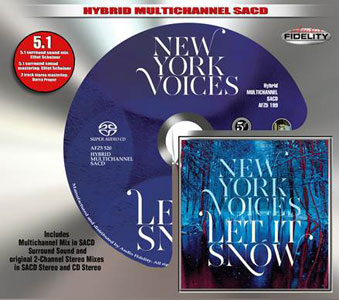 New York Voices: Let it snow - Audio Fidelity Hybrid Multichannel SACD (AFZ 520)