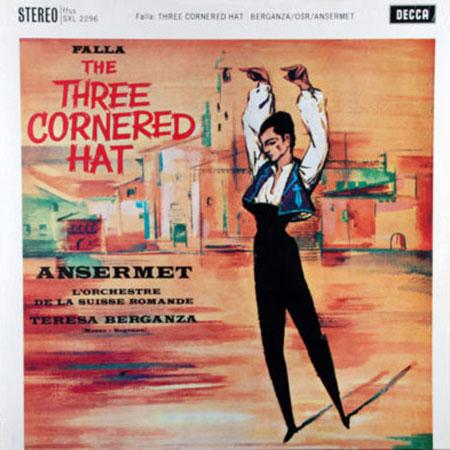 Teresa Berganza: Falla: Three Cornered Hat/ Ansermat - Analogue Productions Hybrid Stereo SACD (CAPC
