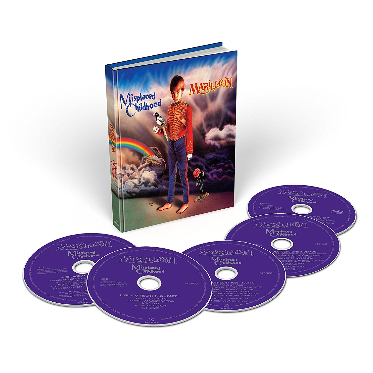 Marillion: Misplaced Childhood -  Warner Music 4-CD + Multichannel Blu-ray Audio (586 688-4)