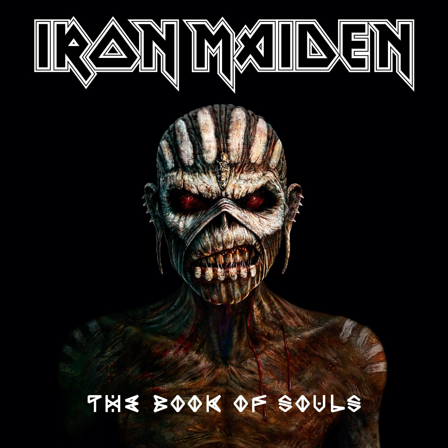 Iron Maiden: The Book of Souls - Warner Music 180g 3-LP (460 892-0)