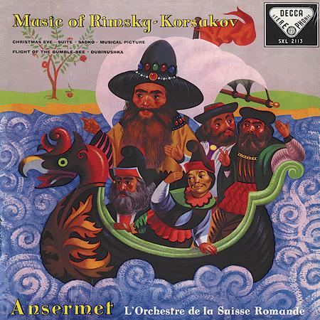 Ernest Ansermet: Music of Rimsky-Korsakov - Speakers Corner 180g LP (SXL 2113)