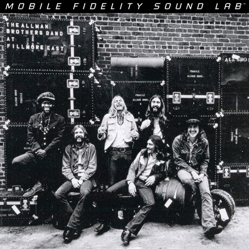 The Allman Brothers Band: At Fillmore East - MFSL 180g 2-LP (MFSL 2-434) Used:NM/NM