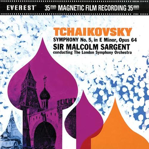 Sir Malcolm Sargent / Tchaikovsky: Symphony No. 5  - Analogue Productions 200g 45RPM 2-LP (AEVC 3039