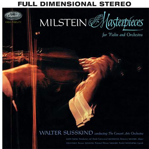 Mathan Milstein: Masterpieces for Violin and Orchestra - Analogue Productions 200g LP (AAPC 8528-33)