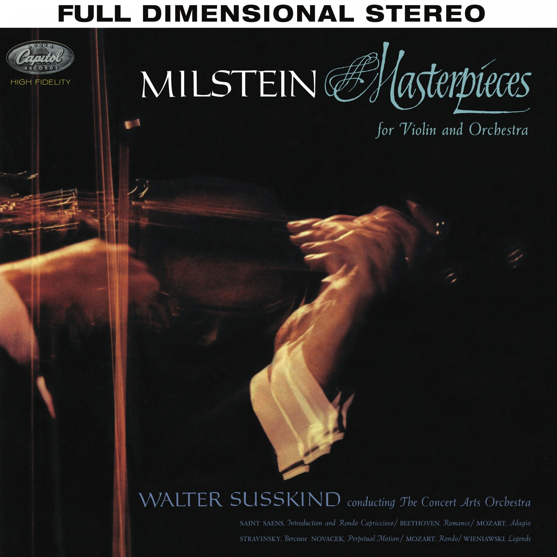Nathan Milstein: Masterpieces for Violin and Orchestra - Analogue Productions Hybrid Stereo SACD (CA