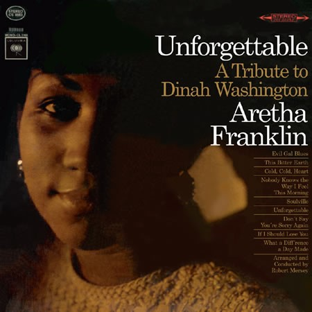Aretha Franklin: Unforgettable: A Tribute To Dinah Washington - Speakers Corner 180g LP (CS 8963)