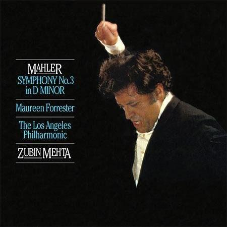 Zubin Mehta: Mahler: Symphony No. 3 In D Minor/ Forrester - Analogue Productions Hybrid Stereo 2-SAC