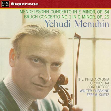 Yehudi Menuhin, Efrem Kurtz, Walter Süsskind, Philharmonia Orchestra: Mendelssohn & Bruch: Violin Co