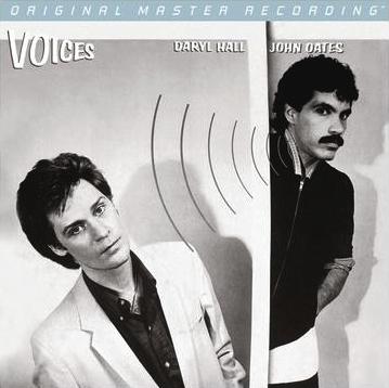 Daryl Hall and John Oates: Voices -  MFSL Hybrid Stereo SACD (UDSACD 2114)