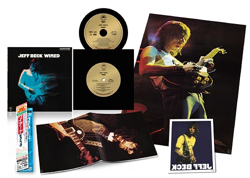 Jeff Beck: Wired -  Sony Music Japan Hybrid Multichannel SACD (EICP-10004)