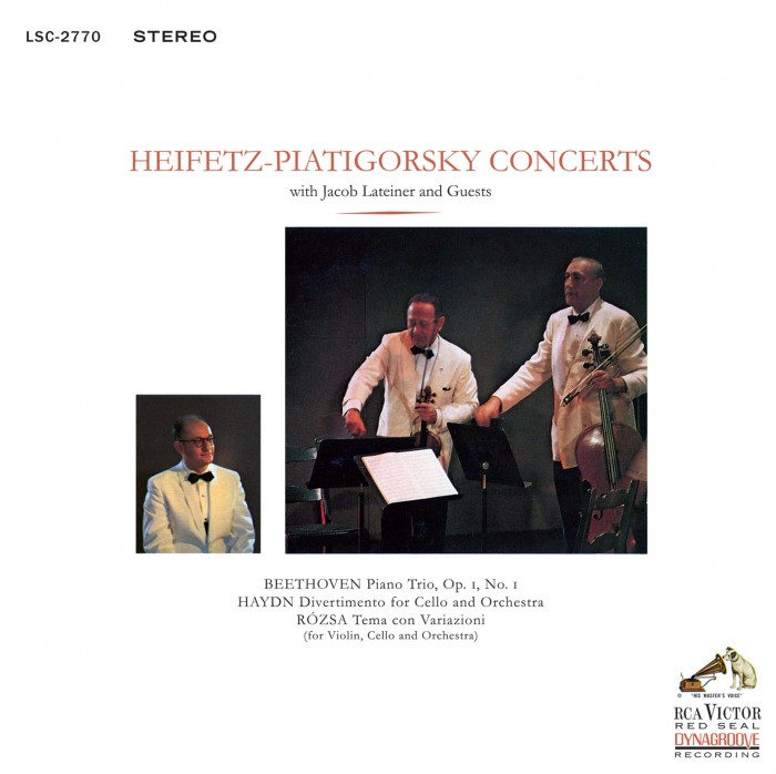 Jacob Lateiner / Beethoven/Haydn/Rozsa: Heifetz-Piatigorsky Concerts  - Impex Hybrid Stereo SACD (CIMX 8314 SA)