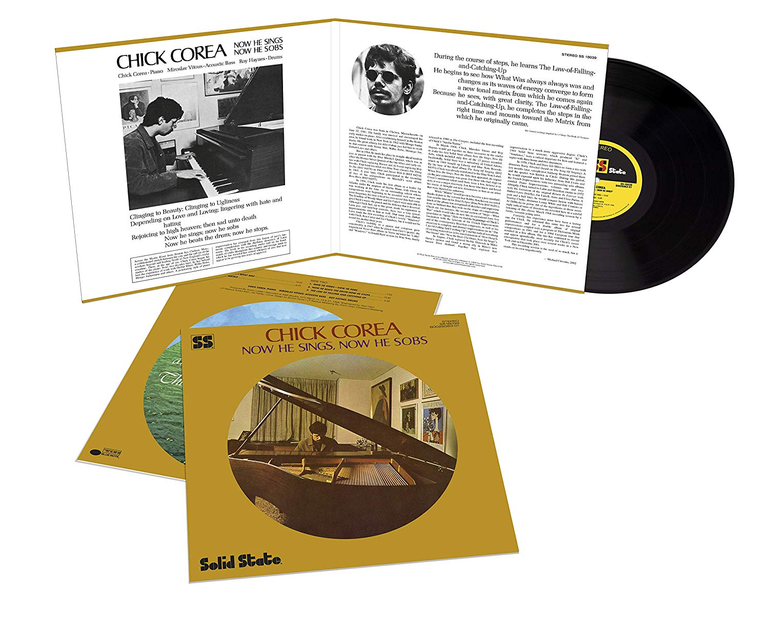 Chick Corea: Now He Sings, Now He Sobs - Tone Poet (Universal) 180g LP (SS18039)