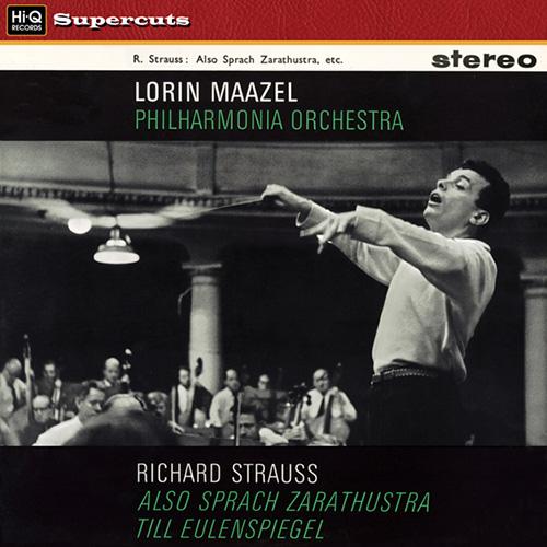 Lorin Maazel, Philharmonia Orchestra: Strauss: Also Sprach Zarathustra - Hi-Q Records 180g LP (HIQLP