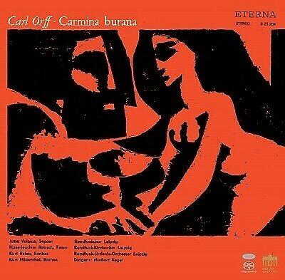 Sinfonie Orch. Leipzig: Orff: Carmina Burana - Tower Records Japan Hybrid Stereo SACD (0301289BC)
