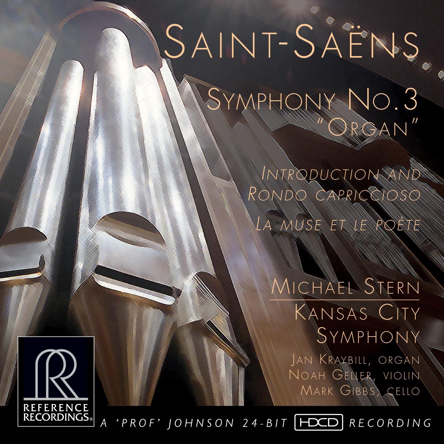 Michael Stern & Kansas City Symphony: Saint-Saëns - Symphony No. 3 - Reference Recordings Hybrid Mul