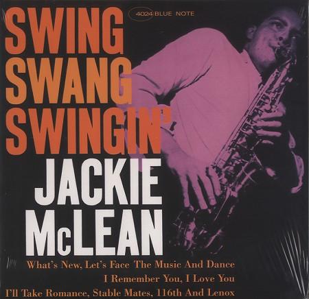 Jackie McLean: Swing, Swang, Swingin' - Music Matters 45RPM 2-LP (MMBST-84024)