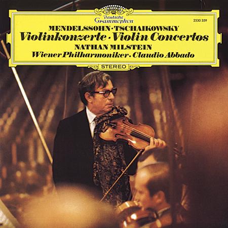 Claudio Abbado/Nathan Milstein: Tchaikovsky & Mendelssohn: Concertos for Violin & Orchestra - Speake