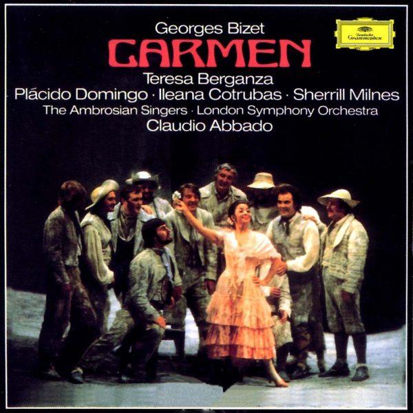 Abbado, T. Berganza, LSO: Bizet: Carmen - Tower Records Japan Hybrid Stereo 2-SACD (PROC-2171)