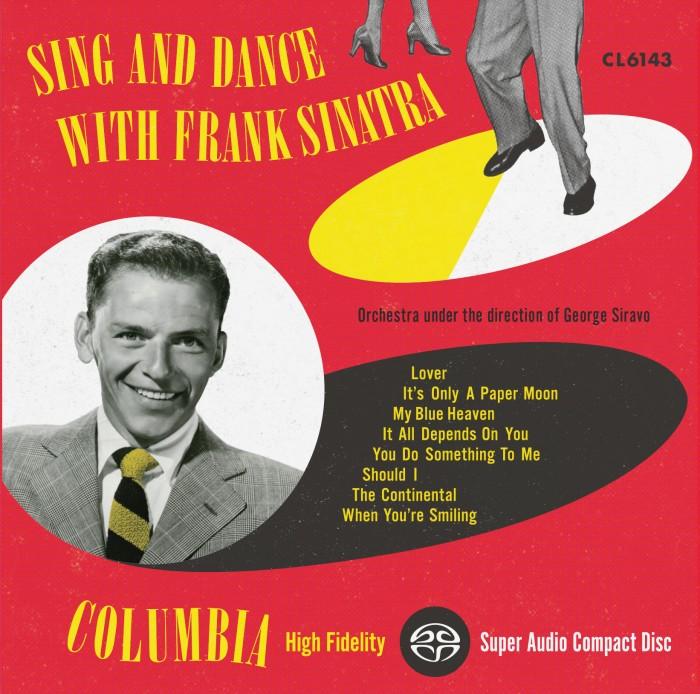 Frank Sinatra: Sing And Dance With Frank Sinatra  - Impex Hybrid Mono SACD (CIMX 8319 SA)