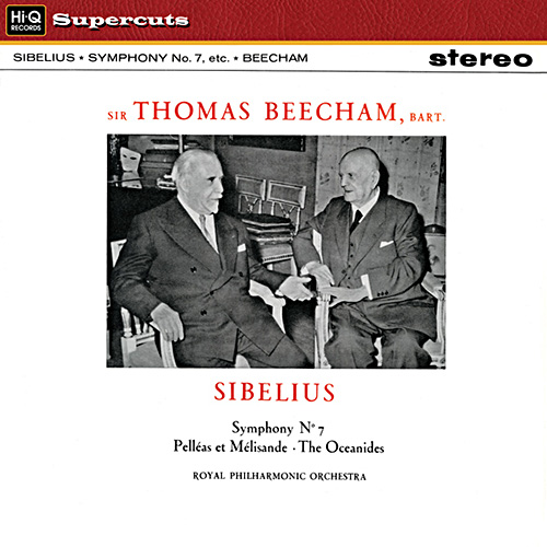 Sir Thomas Beecham, Royal Philharmonic Orchestra: Sibelius: Symphony No. 7 - Hi-Q Records 180g LP (H