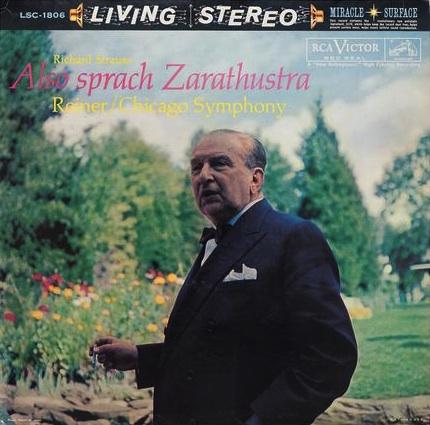 Reiner , Chicago Symphony Orchestra: R. Strauss: Also Sprach Zarathustra - Analogue Productions Hybr